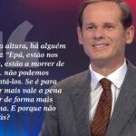 JOSÉ RODRIGUES DOS SANTOS É UMA BESTA