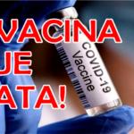 30% dos Vacinados Morrerão Dentro de Três Meses